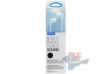 Наушники Remax RM-501 (white) внутриканальные с микрофоном