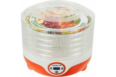Сушка для фруктов и овощей Polaris PFD 0605D 5под. 300Вт оранжевый