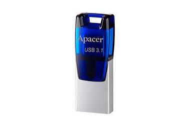 USB флэш-накопитель 16GB Apacer AH179 синий USB3.1 OTG