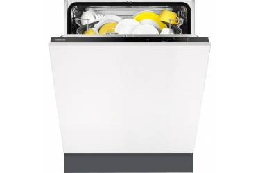 Посудомоечная машина Zanussi ZDT92100FA 1950Вт полноразмерная белый/черный