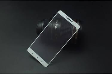 Защитное стекло 2.5D для Samsung SM-A720 Galaxy A7 (2017) Белый тех.пак