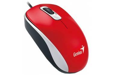 Компьютерная мышь Genius DX-110 Red USB