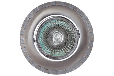 Светильник точечный_DE FRAN_ FT 157 SNCH MR16 сатин-никель+хром