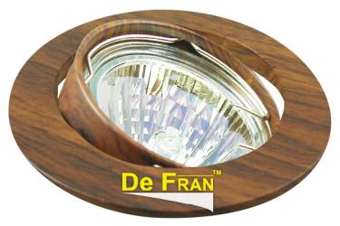 """Светильник точечный_DE FRAN_ FT 211 MR16 """"темное дерево"""""""