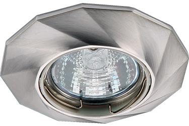 Светильник точечный_DE FRAN_ FT 331 SN MR16 сатин-никель