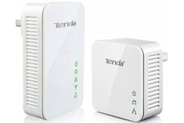 Комплект адаптеров PowerLine c Wi-Fi Tenda  PW201A+P200 N300