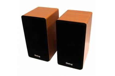Компьютерная акустика Dialog Stride AST-20UP WALNUT - 2.0, 6W RMS, вишня, питание от USB
