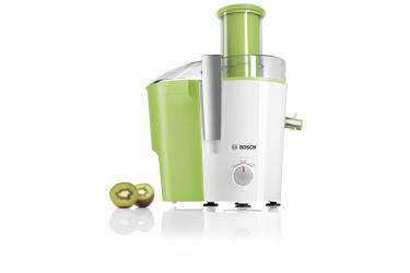 Соковыжималка центробежная Bosch MES25G0 700Вт рез.сок.:1250мл. белый/зеленый