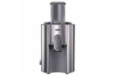Соковыжималка центробежная Braun J700 1000Вт рез.сок.:1250мл. серебристый