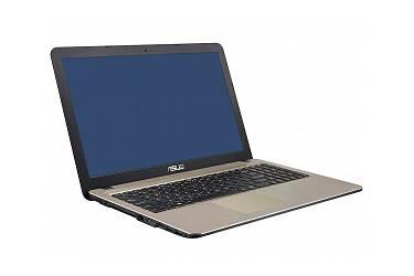 "Ноутбук Asus X540YA-DM660D AMD E1-6010 (1.35)/4G/1T/15.6"" FHD AG/ R2/noODD/BT/DOS Chocolate Black"