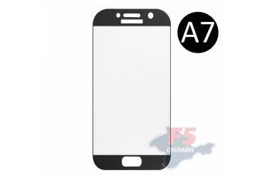 Защитное стекло 3D Krutoff Group для Samsung Galaxy A7 2017 (SM-A720F) black