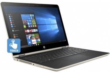 "Ноутбук HP Pavilion 14-ba023ur Core i7 7500U/8Gb/1Tb/SSD128Gb/nVidia GeForce 940MX 4Gb/14""/IPS/Touch/FHD (1920x1080)/Free DOS/gold/WiFi/BT/Cam"