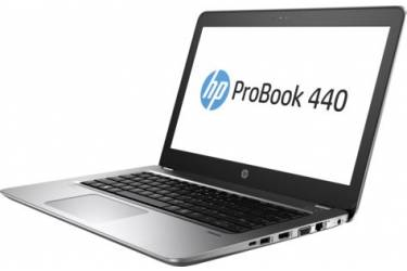 "Ноутбук HP ProBook 440 G4 Core i5 7200U/4Gb/500Gb/Intel HD Graphics 620/14""/SVA/HD (1366x768)/Windows 10 Professional 64/silver/WiFi/BT/Cam"