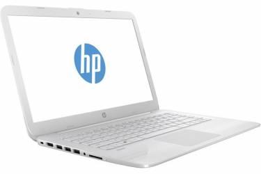 "Ноутбук HP Stream 14-ax017ur Celeron N3060/4Gb/SSD32Gb/Intel HD Graphics/14""/HD (1366x768)/Windows 10 64/white/WiFi/BT/Cam"