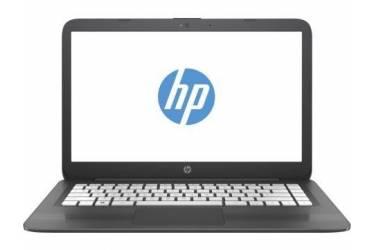"""Ноутбук HP Stream 14-ax018ur Celeron N3060/4Gb/SSD32Gb/Intel HD Graphics/14""""/HD (1366x768)/Windows 10 64/grey/WiFi/BT/Cam"""