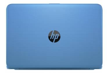 """Ноутбук HP Stream 14-ax000ur Celeron N3050/2Gb/SSD32Gb/Intel HD Graphics/14""""/HD (1366x768)/Windows 10 64/lt.blue/WiFi/BT/Cam"""