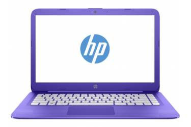 "Ноутбук HP Stream 14-ax001ur Celeron N3050/2Gb/SSD32Gb/Intel HD Graphics/14""/HD (1366x768)/Windows 10 64/violet/WiFi/BT/Cam"