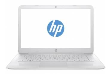 "Ноутбук HP Stream 14-ax006ur Celeron N3050/4Gb/SSD32Gb/Intel HD Graphics/14""/HD (1366x768)/Windows 10 64/white/WiFi/BT/Cam"