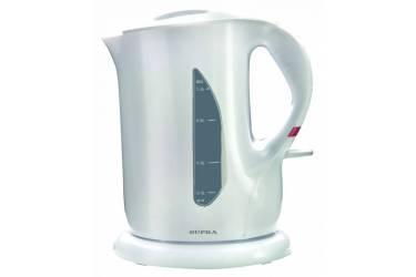 Чайник электрический Supra KES-1001 1л. 1000Вт белый (корпус: пластик)