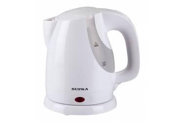 Чайник электрический Supra KES-1021 1л. 1100Вт белый пластик