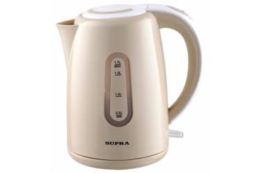 Чайник электрический Supra KES-1720 1.7л. 2200Вт бежевый (корпус: пластик)