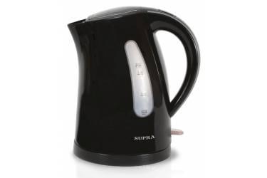 Чайник электрический Supra KES-1721 1.7л. 2200Вт черный (корпус: пластик)