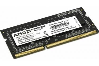 Память DDR3 4Gb 1600MHz AMD R534G1601S1SL-UO OEM PC3-12800 CL11 SO-DIMM 204-pin 1.35В