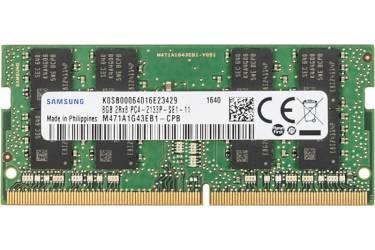 Память DDR4 8Gb 2133MHz Samsung M471A1G43EB1-CPB OEM PC4-17000 CL15 SO-DIMM 260-pin 1.2В