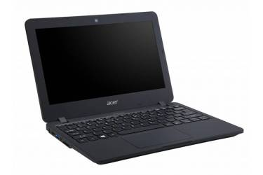 "Ноутбук Acer TravelMate TMB117-M Celeron N3060/4Gb/SSD32Gb/Intel HD Graphics 400/11.6""/HD (1366x768)/Windows 10 Professional 64/black/WiFi/BT/Cam/3220mAh"