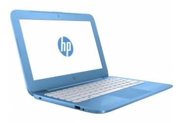 """Ноутбук HP Stream 11-y000ur Celeron N3050/2Gb/SSD32Gb/Intel HD Graphics/11.6""""/HD (1366x768)/Windows 10 64/lt.blue/WiFi/BT/Cam"""