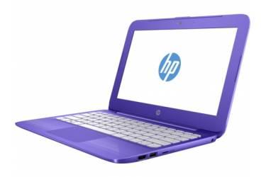 """Ноутбук HP Stream 11-y001ur Celeron N3050/2Gb/SSD32Gb/Intel HD Graphics/11.6""""/HD (1366x768)/Windows 10 64/violet/WiFi/BT/Cam"""