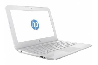 """Ноутбук HP Stream 11-y006ur Celeron N3050/4Gb/SSD32Gb/Intel HD Graphics/11.6""""/HD (1366x768)/Windows 10 64/white/WiFi/BT/Cam"""