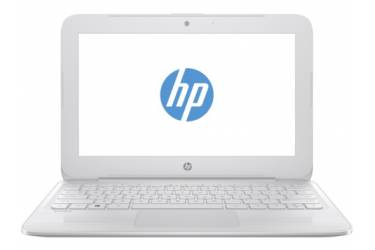 "Ноутбук HP Stream 11-y007ur Celeron N3050/2Gb/SSD32Gb/Intel HD Graphics/11.6""/HD (1366x768)/Windows 10 64/white/WiFi/BT/Cam"