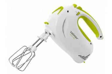 Миксер ручной Zelmer ZHM1204L 400Вт белый/светло-зеленый