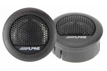 Колонки автомобильные Alpine SXE-1006TW 280Вт 88дБ 4Ом (ком.:2кол.) твитер