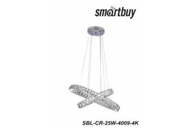 Светодиодная люстра (LED) SmartbuyCrystal4009-25W/4K (SBL-CR-25W-4009-4K)