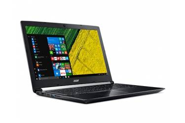 "Ноутбук Acer Aspire A717-71G-7817 Core i7 7700HQ/16Gb/1Tb/SSD256Gb/nVidia GeForce GTX 1050 Ti 4Gb/17.3""/IPS/FHD (1920x1080)/Windows 10 Home/black/WiFi/BT/Cam/3220mAh"