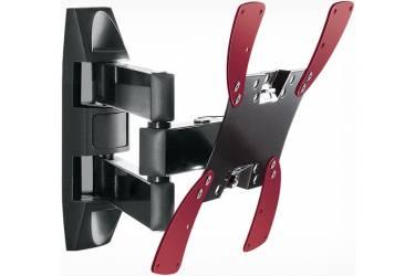 "Кронштейн для телевизора Holder LCDS-5066 черный 22""-42"" макс.30кг настенный поворот и наклон"