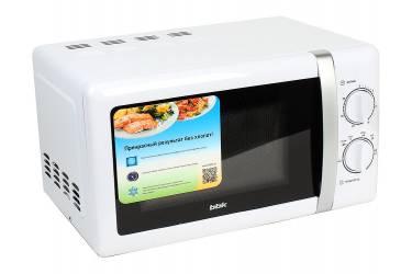 Микроволновая печь BBK 20MWS-804M/WS белый/серебро 20л 800Вт механика