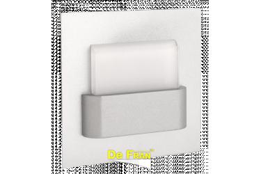 Светильник светодиод_DE FRAN_ FT9901 LED S 3100К 220В 0,3Вт 25Лм, мат.серебро, спектр теплый белый