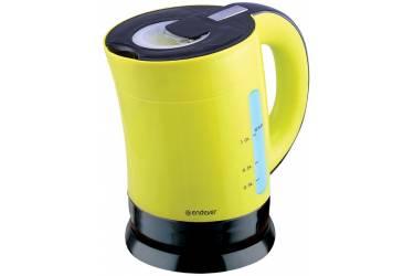 Чайник электрический Endever Skyline KR-356, черно-желтый,1л,1900Вт