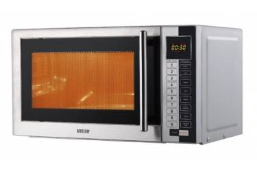Микроволновая Печь Mystery MMW-1718 17л. 800Вт серебристый