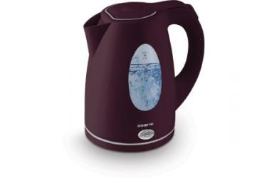 Чайник электрический Polaris PWK 1575CL 1.5л. 2200Вт бордовый (пластик)