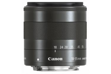 Объектив Canon EF-M STM (5984B005) 18-55мм f/3.5-5.6 черный