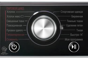 Стиральная машина LG F14U2TBS4 класс: A загр.фронтальная макс.:8кг серебристый