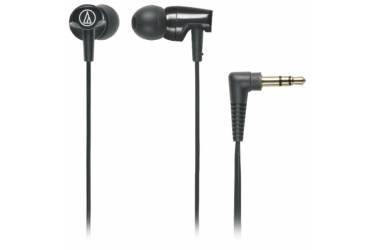 Наушники Audio-Technica ATH-CLR100 BK внутриканальные черные