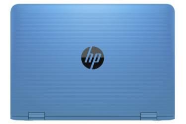 "Трансформер HP Stream x360 11-aa000ur Celeron N3050/2Gb/SSD32Gb/Intel HD Graphics/11.6""/IPS/Touch/HD (1366x768)/Windows 10 64/lt.blue/WiFi/BT/Cam"