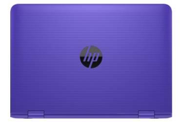 "Трансформер HP Stream x360 11-aa002ur Celeron N3050/2Gb/SSD32Gb/Intel HD Graphics/11.6""/IPS/Touch/HD (1366x768)/Windows 10 64/violet/WiFi/BT/Cam"