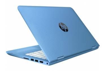 """Трансформер HP x360 11-aa008ur Celeron N3060/2Gb/SSD32Gb/Intel HD Graphics/11.6""""/IPS/Touch/HD (1366x768)/Windows 10 64/blue/WiFi/BT/Cam"""