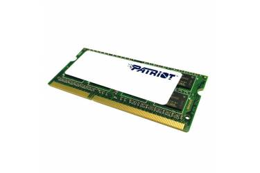 Память DDR3L 8Gb 1600MHz Patriot PSD38G1600L2S RTL PC3-12800 CL11 SO-DIMM 204-pin 1.35В dual rank
